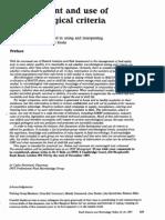 Desarrollo y Uso de Criterios Microbiologicos Para Comidas