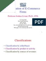 Classification of E-comm Companies