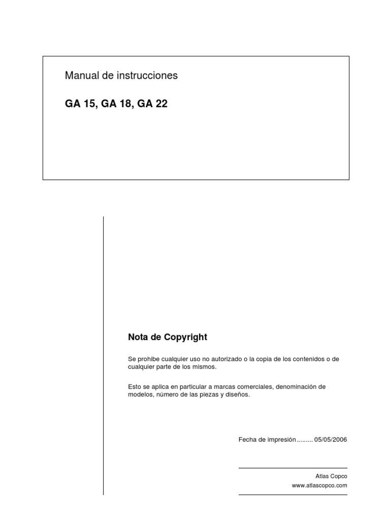 ... Array - manual compresor atlas copco nuevo rh es scribd ...