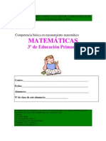 PRIMARIA3-MATEMATICAS ejeercicios