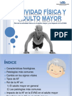 Actividad Fisica y Adulto Mayor