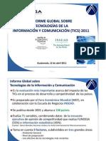Informe Global TICs 2011
