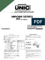 Parts Catalog UR v 290 Series