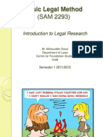 Intro to Legal Research