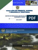 8. Gesti n Del Riesgo en El Sector de Agua Potable y to b Sico MAVDT
