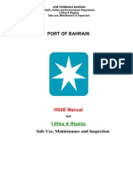 APMT Bahrain Lifting and Rigging Standard