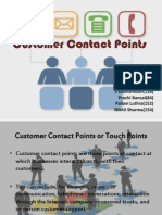 Customer Contact Points