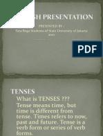 Tenses English Language Present as Ion