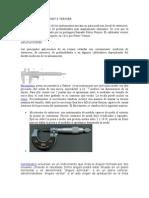 CALIBRADOR PIE DE REY 0 VERNIER