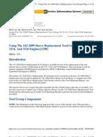 Manual de Operación de Herramientas 3116 Y 26