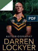 Autobiography by Darren Lockyer Sample Chapter