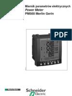 09 Power Logic PM500 Instr Obslugi