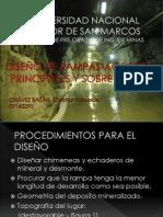 CONSIDERACIONES EN EL DISEÑO DE RAMPAS. ACCESOS PRINCIPALES Y SOBRE VETAS-by- Christian Eduardo Chávez Bazán