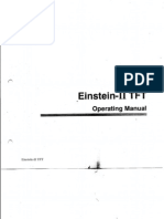 Modsonic Tft Operating Manual