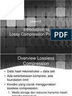 Lesson 8 Introduction to Lossy Compression Rev