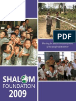 Shalom (Nyein) Foundation 2009 Annual Report