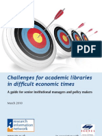 Challenges for Libraries FINAL March10