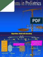 Some Algorithms in Pediatrics