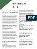 Mostra Cinema Venezia 2011 - 6 settembre