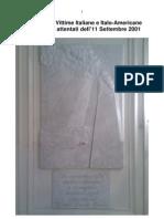 Elenco delle Vittime Italiane e Italo-Americane degli attentati dell'11/9