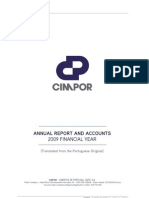Cimpor 2009 Annual Report