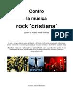 Contro la musica rock 'cristiana'
