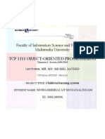 Children Learning System Report