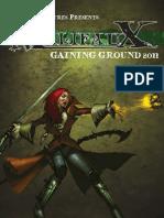 Malifaux Gaining Ground 2011