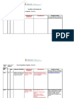 Plantilla Planificación Diaria SECST