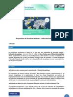 Actualité_réglementaire_efficacité_électrique_juillet 2011