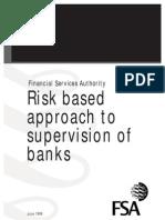 Risk Base Supervision of Banks