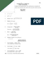 Matematik Kertas 2 Peperiksaan Percubaan PMR 2011 SARAWAK