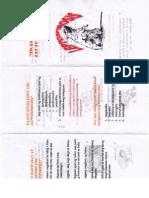 Leptospirosis Brochure (tagalog)