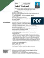 A wadood CV.doc