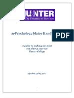 Psych Major Handbook