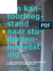 Van kantoorleegstand naar studentenhuisvesting ... een onderdeel van het doorlopende onderzoek 'De Vakman Tool' / Sander Smoes - Smoes Ontwerpen - De Vakman Centraal - De Vakman Tool