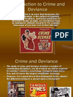 Introduction to Crime and Deviance