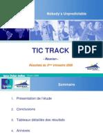Rapport Tic Track Region 3 Trim 2008 Region Reunion