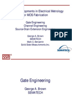Recent Developments in Electrical Metrology