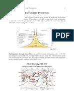 L14 Earthquake Prediction