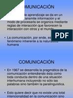 PRAGMATICA DE LA COMUNICACIÓN
