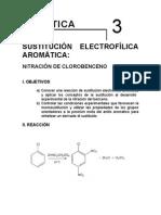 Nitracion Del Cloro Benceno