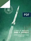 A Visit of President John F. Kennedy to White Sands Missile Range