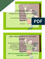 La Actividad Escolar Juslibol 2009-20010-1