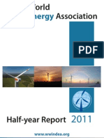 The World Wind Energy Association - Halfyear Report 2011