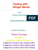Trading With Bollinger Bands - Toni Turner