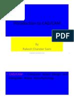 Introdution CAD/CAM