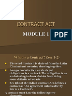 Contract Act Mod1
