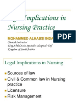 legalimplicationsinnursingpractice-100225143455-phpapp02