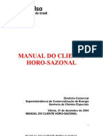 Manual Do Cliente Horo-Sazonal Completo